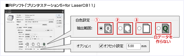 PrinterStation5+for LaserC811について